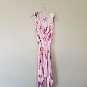 Ava & Viv Floral Wrap Maxi Dress